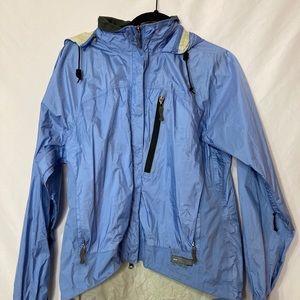 REI Blue Woman's Rain Jacket Light Weight M